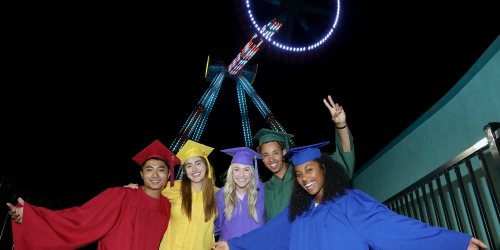 grads at crazanity during grad nite
