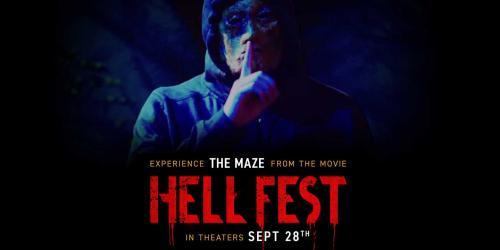 Hell Fest maze