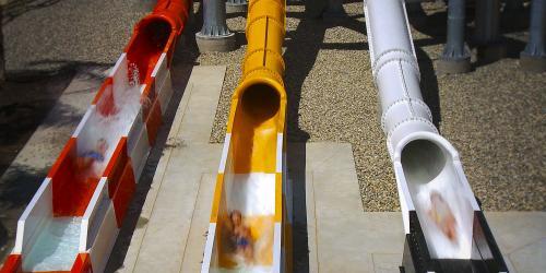 water slide tunnels