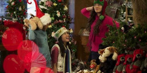 Children enjoying Holiday Treasures