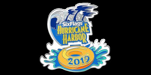 Hurricane Harbor 2019 Membership Pin