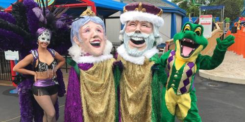 Mardi Gras Characters