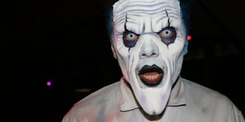 Ppooky henchmen clown in Henchmen Alley