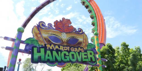 Mardi Gras Hangover with Mardi Gras Sign