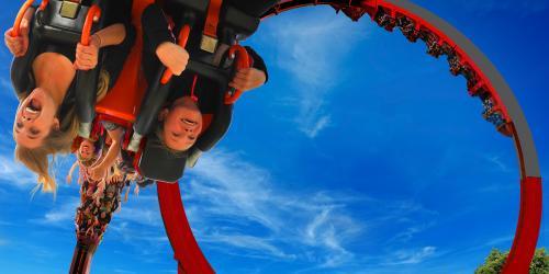 a portion of El Diablo loop coaster coming to Six Flags Over Texas