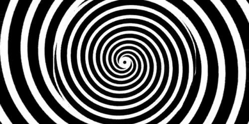 Black and white pinwheel.