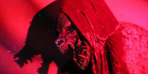 big bad wolf at Red's Revenge maze