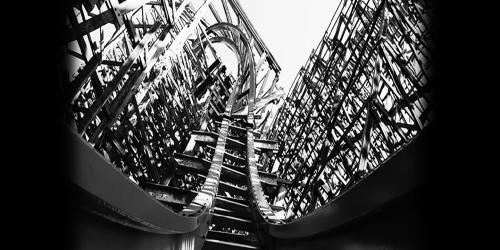 Black and white Medusa