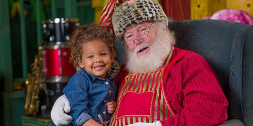 A Special Visit with Santa