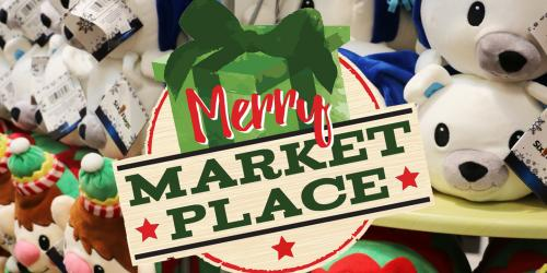 Merry Market Place stuffed animal merchandise