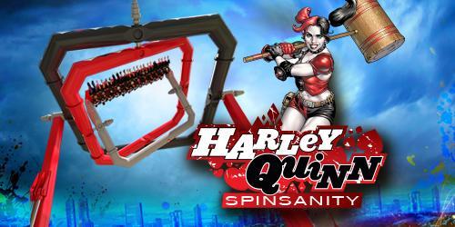Harley Quinn Coaster at Six Flags Over Texas