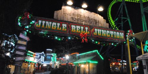Jingle Bell Junction at Six Flags New England