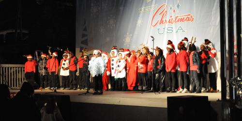 Retro USA Christmas Singers