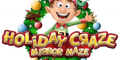 Holiday craze mirror maze