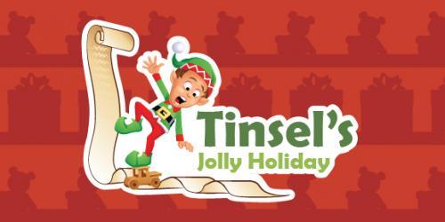 Tinsels Jolly Holiday logo