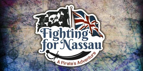 Fighting for Nassau: A Pirates Adventure Logo
