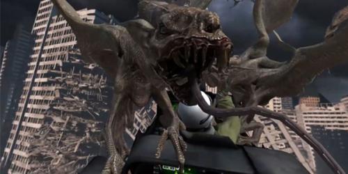 Gargoyle from Rage of the Gargoyle VR animation