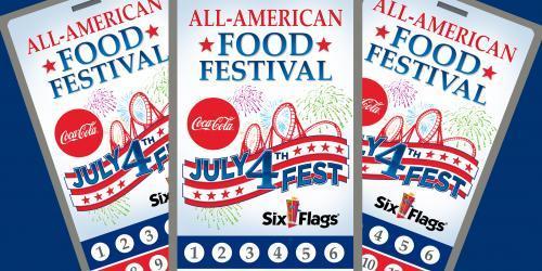All-American Food Festival Sampler Passport