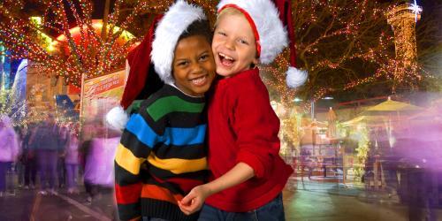 Kids at Santas Workshop