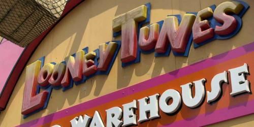 Looney Tunes Prop Warehouse sign