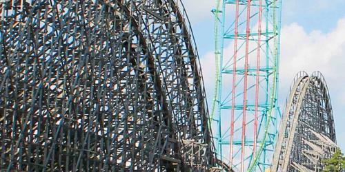 El Toro wooden Roller Coaster