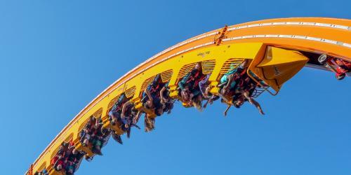 loop coaster upside down