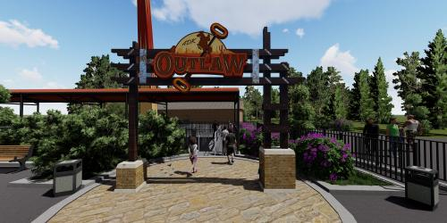 New ride coming to Six Flags Great Escape rendering