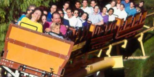Guests enjoying Gold Rusher