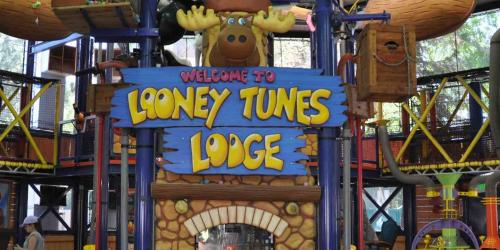 Entrance to The Looney Tunes Lodge