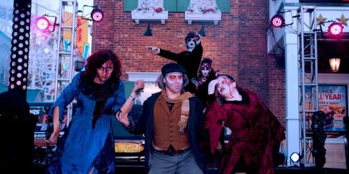 Mayor Slayer during The Awakening at Six Flags New England