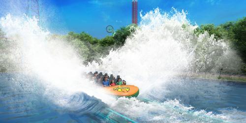 water coaster ride