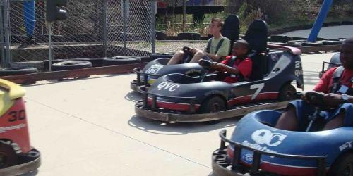 Go Karts and smiles
