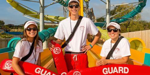Lifeguards at the park