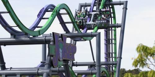 JOKER coaster at Six Flags Great Adventure