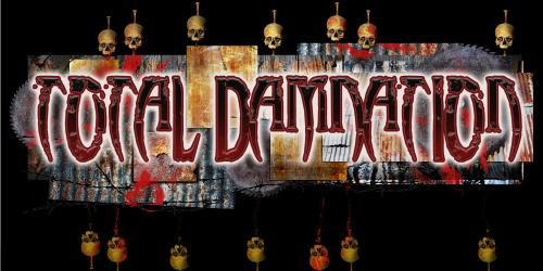 Total Damnation, the new seriously twisted haunted house at Six Flags America for 2018!