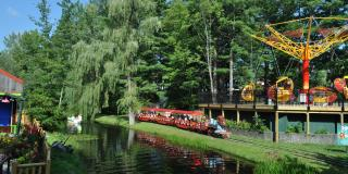 The Storytown Train at The Great Escape