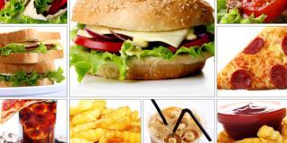 Collage of Restaurant Menu Items