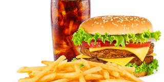 Burger, Fries, and Soda