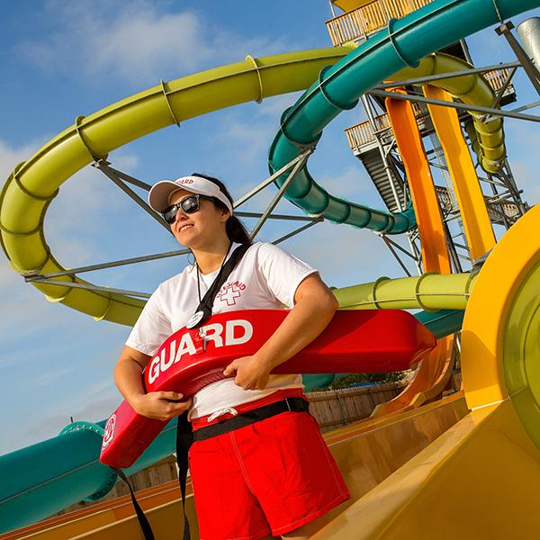 Six Flags life guard
