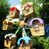 Wacky Wagons at Six Flags New England