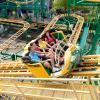 Rajin Cajun coaster track