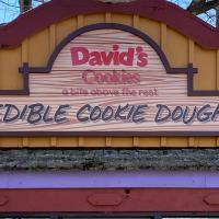 Davids Cookie dough storefront