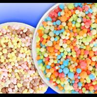 two bowls of dippin dots