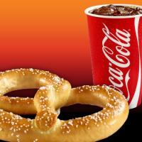 Pretzel and Coke