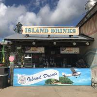 Island Drinks stand
