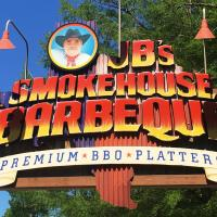 JBs Barbeque sign