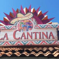 La Canina sign on building