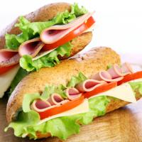 Fresh sub sandwiches