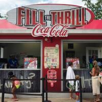 Fill the Thrill drink kiosk