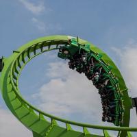 GREEN LANTERN Ride Photos